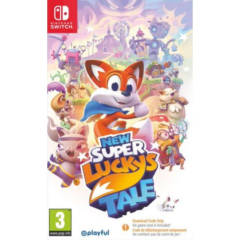 New Super Lucky's Tale [Code In A Box] (Switch)