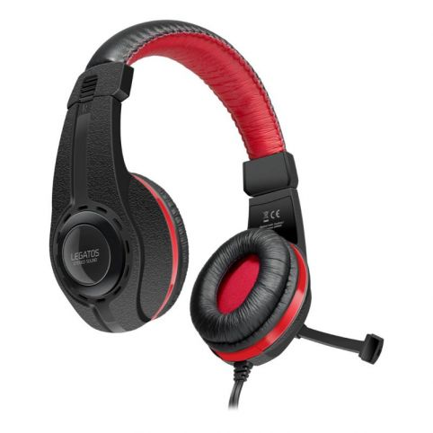 SPEEDLINK Legatos Stereo Gaming Headset with Microphone for Playstation 4, Black