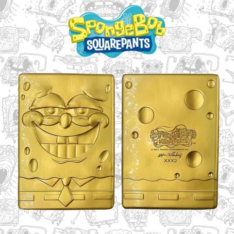 SpongeBob 24k Gold plated Limited Edition Collectible