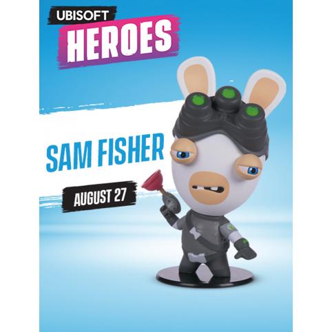 Ubisoft Heroes Rabbid Sam Fisher Figurine - Series 1