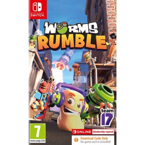 Worms Rumble [Code In A Box] (Switch)