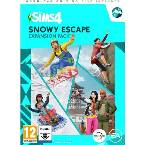 The Sims 4 Expansion Pack 10 - Snowy Escape (PC)