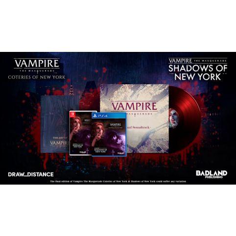 Vampire The Masquerade Collector's Edition (Switch)