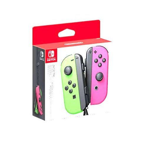 Joy-Con Pair - Neon Green/Neon Pink (Switch)