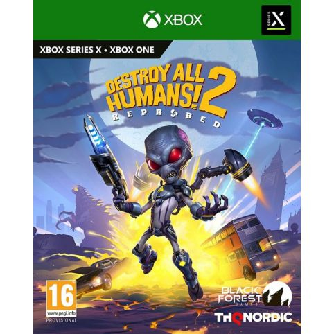 Destroy All Humans! 2: Reprobed (Xbox Series X)