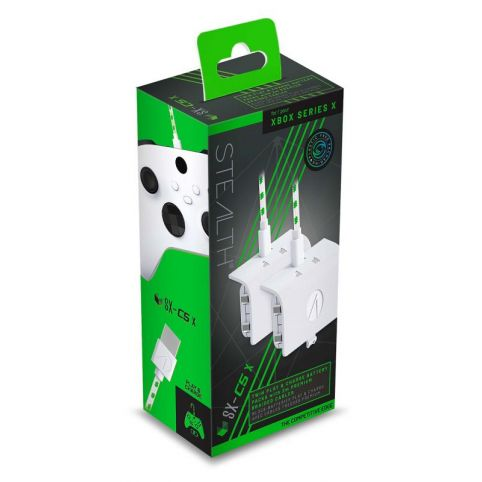 Stealth SX-C5X Twin Play & Charge Battery Packs - White (Xbox Series X)
