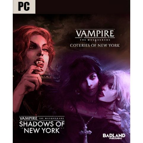 Vampire The Masquerade Coteries of New York + Shadows of New York (PC)