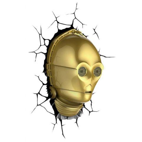 Star Wars C3PO 3D Deco Light