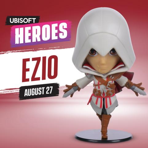 Ubisoft Heroes AC Ezio Figurine - Series 1