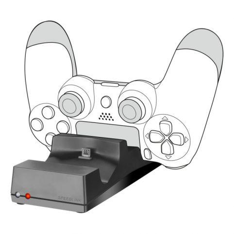 SPEEDLINK Jazz USB Charger For PlayStation 4, Black