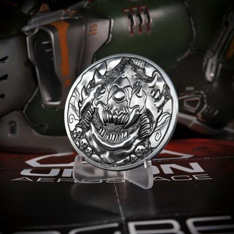 Doom Cacodemon 'Level Up' Medallion