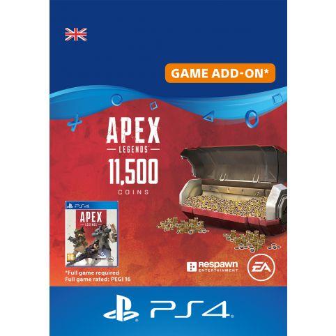 Apex Legends 11500 Apex Coins - Digital Code - UK account