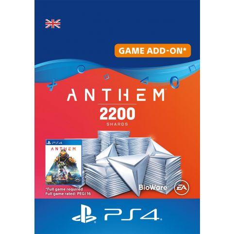 Anthem 2200 Shards Pack - Digital Code - UK account