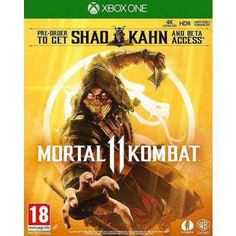 Mortal Kombat 11 with Shao Kahn Playable Character (Xbox One)