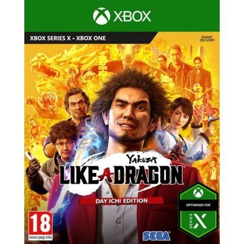 Yakuza: Like a Dragon Day Ichi Steelbook Edition (Xbox One)