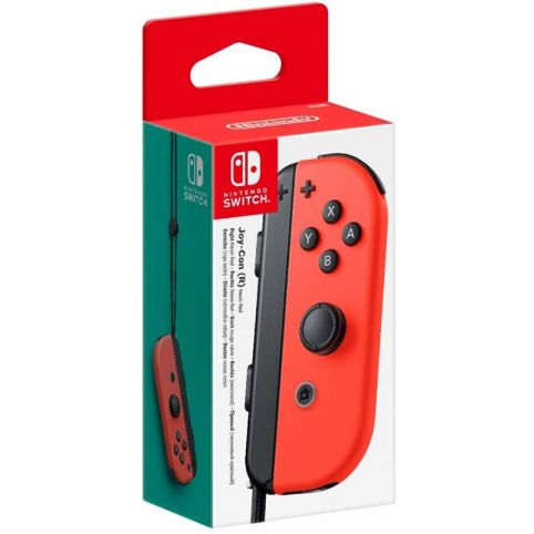Nintendo Switch Joy-Con Controller Right - Neon Red (Switch)