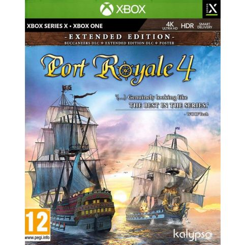 Port Royale 4: Extended Version (Xbox Series X)