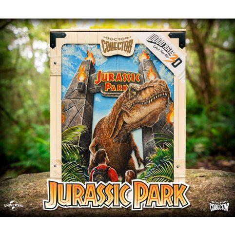 Jurassic Park Rex Attack Woodart