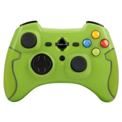 SPEEDLINK Torid Wireless Gamepad - PC/PS3, Green
