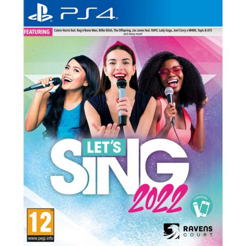 Let's Sing 2022 With Mic (PS4)