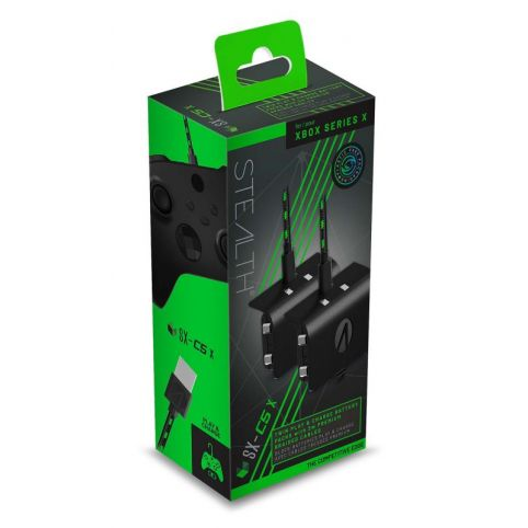 Stealth SX-C5X Twin Play & Charge Battery Packs - Black (Xbox Series X)