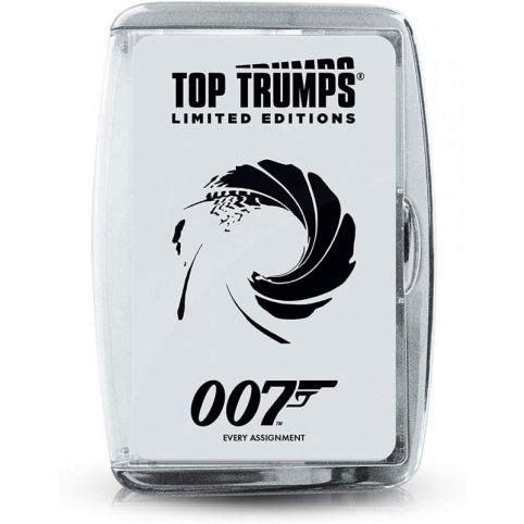 James Bond Limited Edition Case Top Trumps