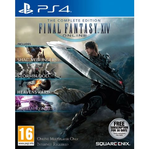 Final Fantasy XIV: The Complete Collection (PS4)