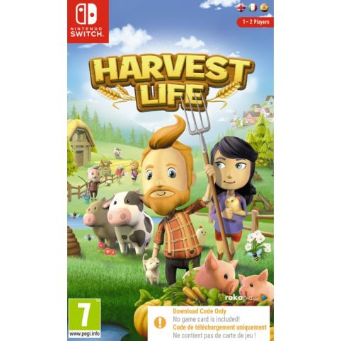 Harvest Life - Code In Box (Switch)