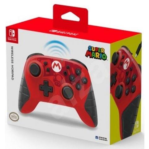 HORI Wireless HORIPAD - Mario Edition (Switch)