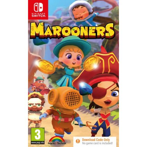 Marooners [Code In A Box] (Switch)