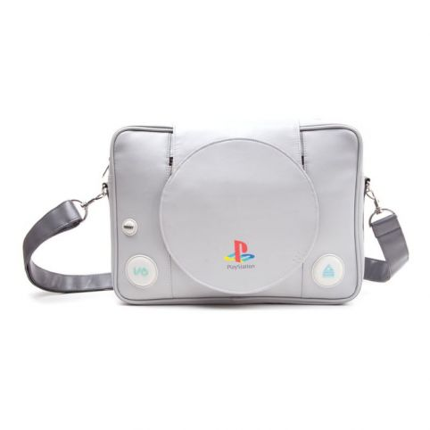 SONY PlayStation One Console Messenger Bag, Grey