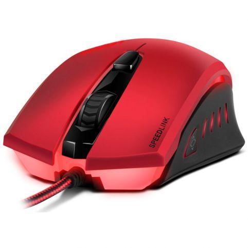 SPEEDLINK Ledos 3000dpi Optical Gaming Mouse, Red