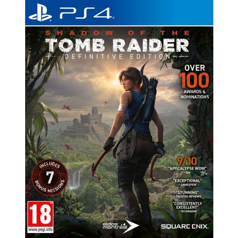 Shadow Of The Tomb Raider: Definitive Edition (PS4)