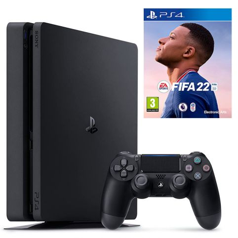 PlayStation 4 Console 500GB with FIFA 22 (PS4)
