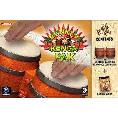 Donkey Konga with Bongos (GameCube)