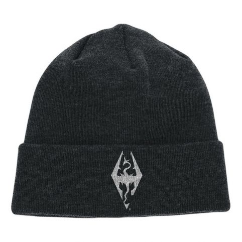 The Elder Scrolls V: Skyrim Dragon Symbol Embroidered Cuffed Beanie