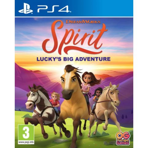 DreamWorks Spirit: Lucky's Big Adventure (PS4)