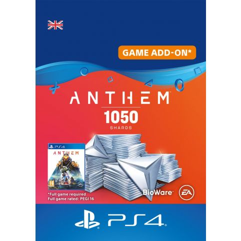 Anthem 1050 Shards Pack - Digital Code - UK account