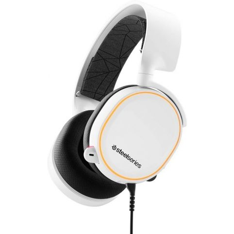 SteelSeries Arctis 5 Headset - White
