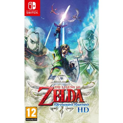 The Legend of Zelda: Skyward Sword HD With FREE Steelbook And Keyring (Switch)
