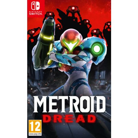 Metroid Dread with free Keyring and A2 Poster (Switch)
