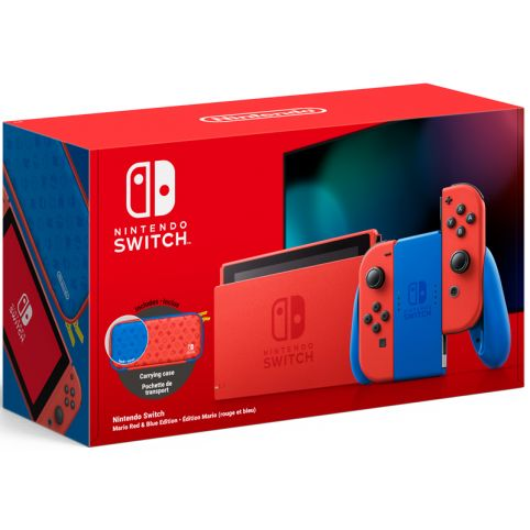 Nintendo Switch Console - Mario Red And Blue Edition (Switch)