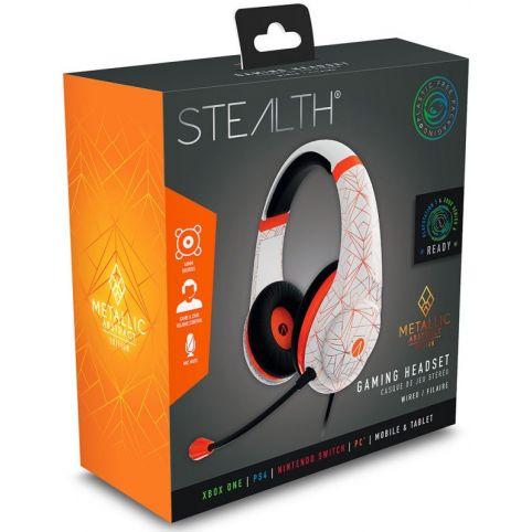 STEALTH XP-Metallic Abstract Edition - Orange/White
