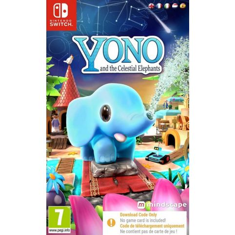 Yono And The Celestial Elephants - Code In Box (Switch)