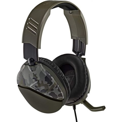 Turtle Beach Recon 70 Green Camo Gaming Headset (PS4)
