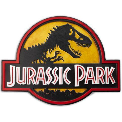 Jurassic Park Logo Metal Sign