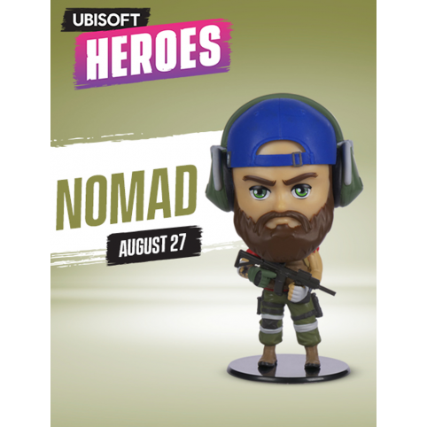 Ubisoft Heroes Ghost Recon Nomad Figurine - Series 1