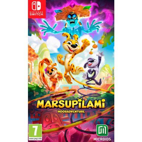 Marsupilami: Hoobadventure - Tropical Edition (Switch)