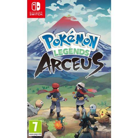 Pokemon Legends Arceus with free Steelbook & Sticker Sheet (Switch)