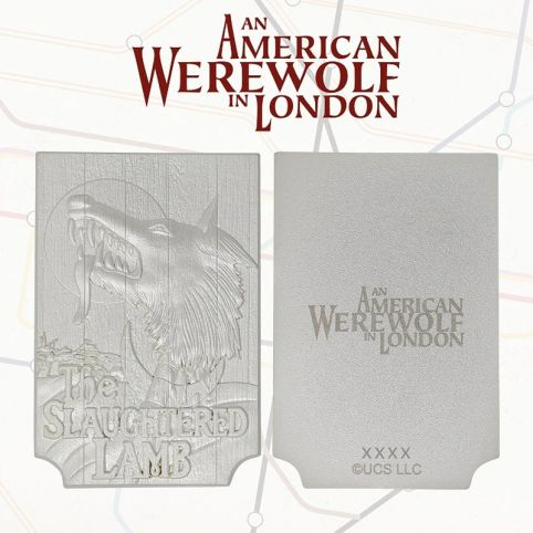 An American Werewolf In London Limited Edition Silver Plated Replica